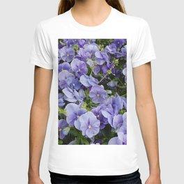 Pansy flower T-shirt