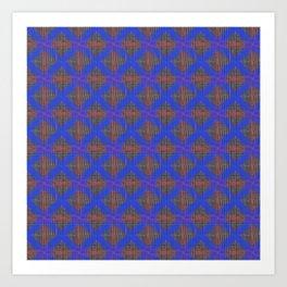Great Heritage - Blue at Tweed Art Print