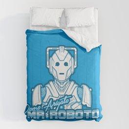 Domo Arigato Mr. Cyberman Comforters