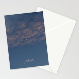 just breathe #2 Stationery Cards