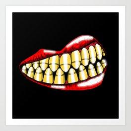 Bullet Teeth Art Print
