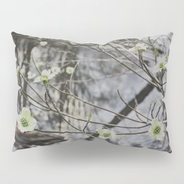 Dogwoods at the River Pillow Sham