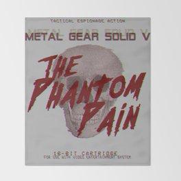 The Phantom Pain Throw Blanket