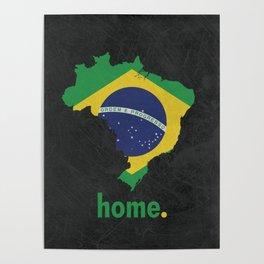 Brazil Proud Poster