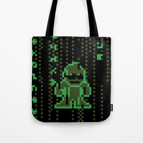 The Pixel Matrix Tote Bag