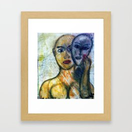 THE HYPOCRITE Framed Art Print