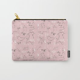 Astrology Pattern Pink #homedecor Carry-All Pouch