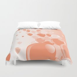 Two Tone Baloons Duvet Cover