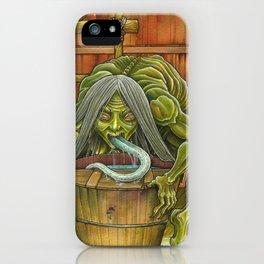 Aka-name - the filth licker iPhone Case