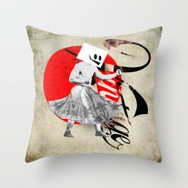 Chocolate Covered Espresso Beans Throw Pillow