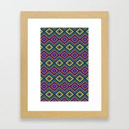 DiamondsTwo Framed Art Print
