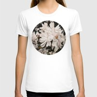 antique T-shirts featuring Antique Magnolias by A Wandering Soul