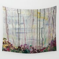 forrest Wall Tapestries featuring Spring Forrest by Stephanie Cole CREATIONS