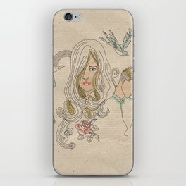 I don´t want promises iPhone Skin