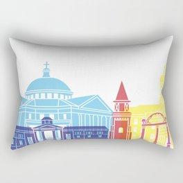 Athens GA skyline pop Rectangular Pillow