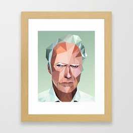 Clinty Framed Art Print