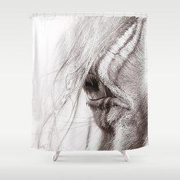Perlino Eye Shower Curtain