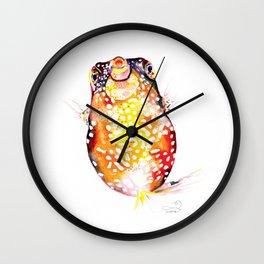 Box Fish Wall Clock