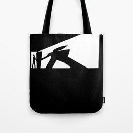The Visitor Silhouette Tote Bag