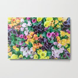 Supermarket Flowers Metal Print