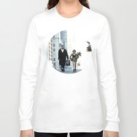 leon Long Sleeve T-shirts featuring LEON, THE PROFESSIONAL by VAGABOND