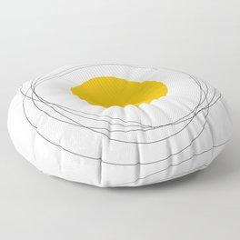 Doodle egg Floor Pillow