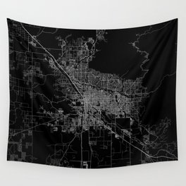 tucson map Wall Tapestry