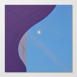 Lunar Curve Canvas Print