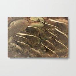 Hades Golden Flocks Metal Print
