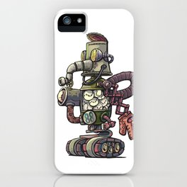 Baseball Robot iPhone Case