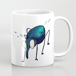 Distraught Beetle 2 Coffee Mug