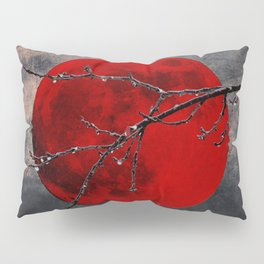 Modern Blood Red Moon Rain Gothic Decor A175 Pillow Sham