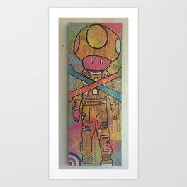 gameboy by barrie j davies 2015 Art Print