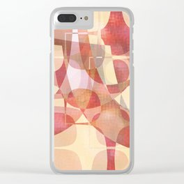 Softly Softly Clear iPhone Case
