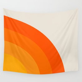 Sunrise Rainbow - Right Side Wall Tapestry