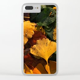 Sounds of Autumn Clear iPhone Case