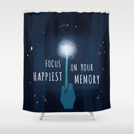 Your Happiest Memory Shower Curtain