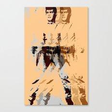FPJ agent orange Canvas Print