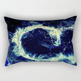 C Weed Rectangular Pillow