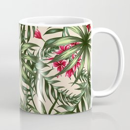 Tropical leave pattern 9.4 Coffee Mug