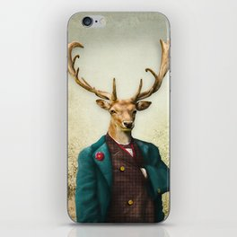 Lord Staghorne in the wood iPhone Skin