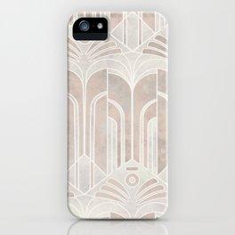 Peach Domio Nouveau iPhone Case
