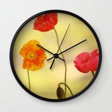Jeune Fille Wall Clock