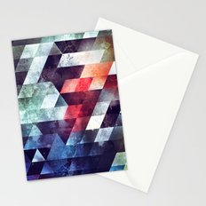 crykkd glyry Stationery Cards