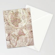 An Accurate Map Stationery Cards