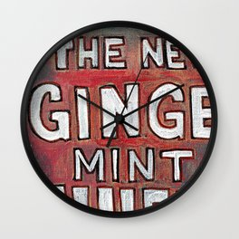The New Drink Wall Clock