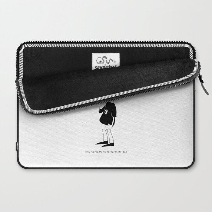 The Unemployed - Sam Laptop Sleeve