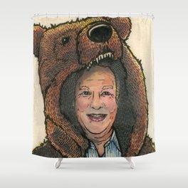Bear Suit Marc Shower Curtain