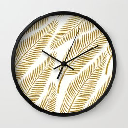 Golden Palm #society6 #decor #buyart Wall Clock