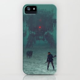 1920 - red wreck iPhone Case